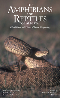 Cover image (The Amphibians and Reptiles of Alberta)
