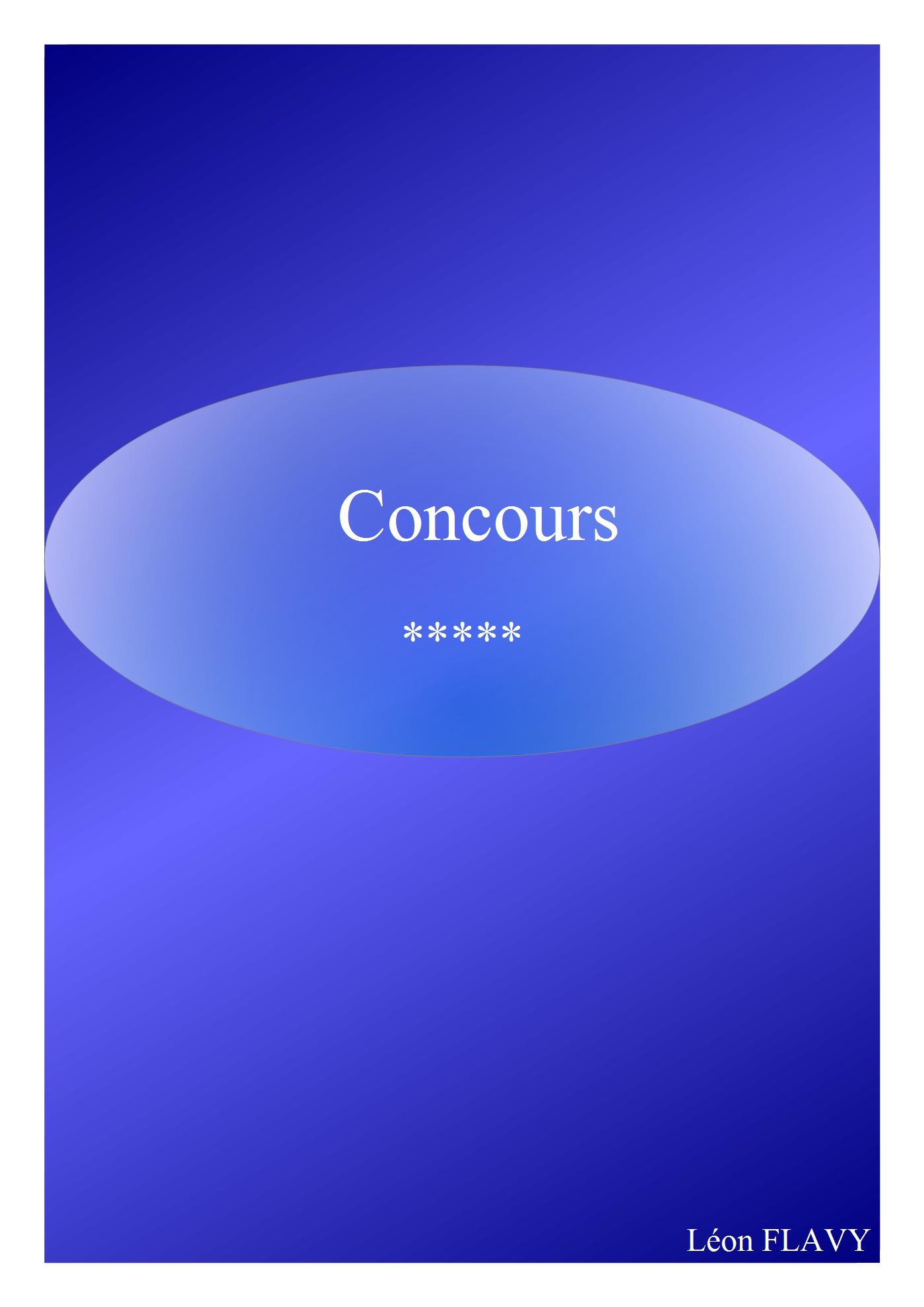 CONCOURS CULTURE GENERALE