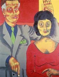 La famille - Fernande et René