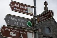 Panneaux de signalisation, Irlande