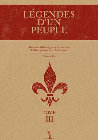 Image de couverture (Légendes d'un peuple Tome III)