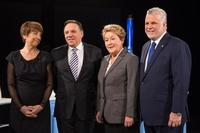 Candidats, campagne électorale provinciale, mars 2014