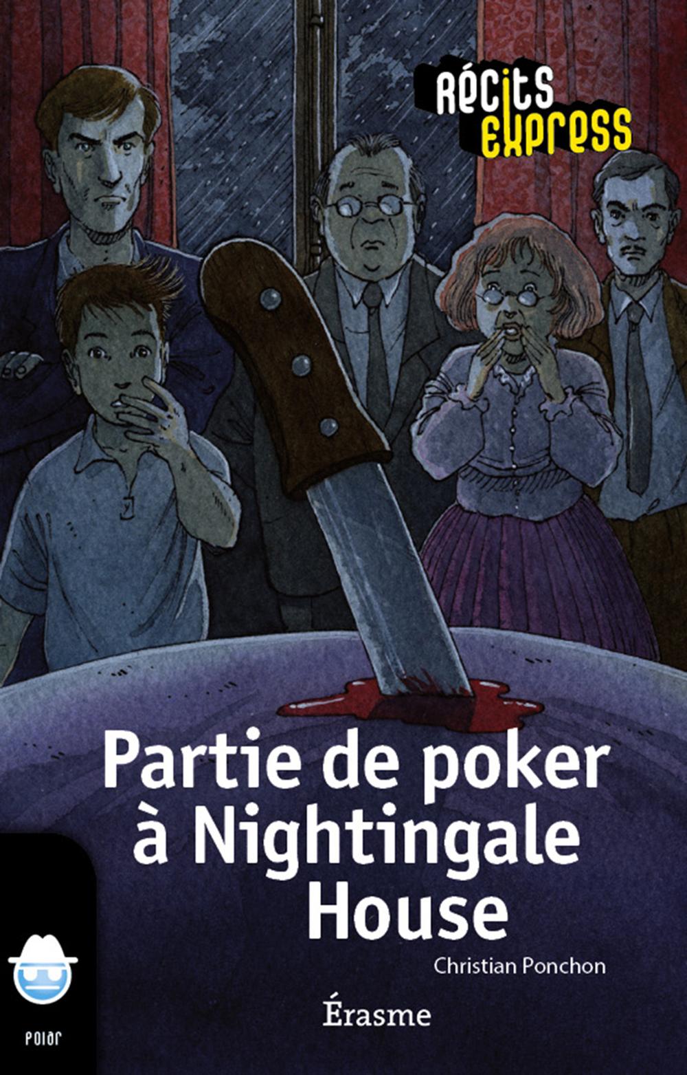 Partie de poker à Nightingale House