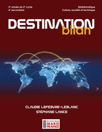 Destination bilan, 4e secondaire CST