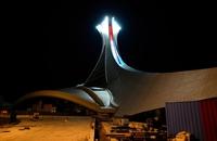 Olympic Stadium, by Night