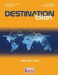 Destination bilan, 5e secondaire SN - corrigé du recueil