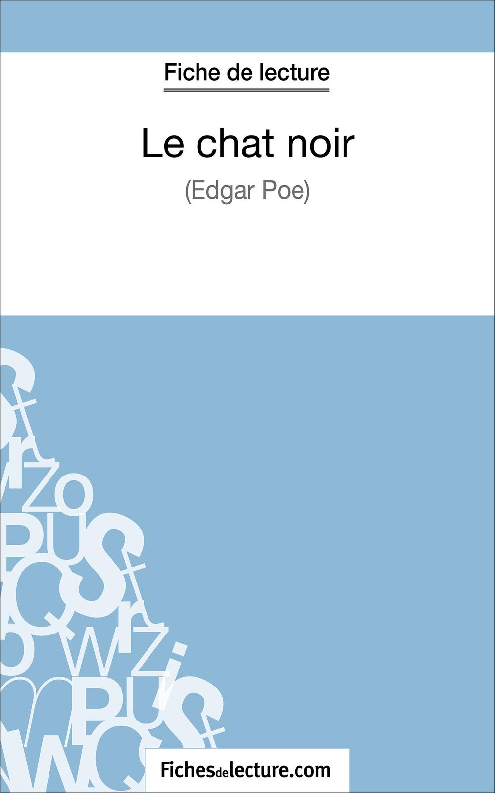 Le chat noir d'Edgar Poe (Fiche de lecture)
