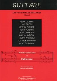 Guitare - Les plus belles mélodies - TAB