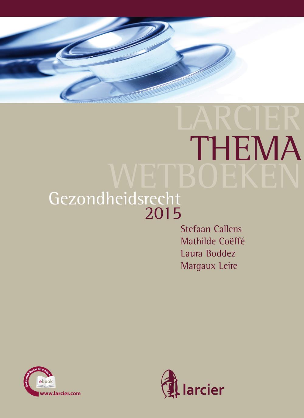 Gezondheidsrecht 2015
