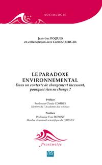 Le paradoxe environnemental