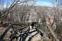 L'escalier des Franciscains