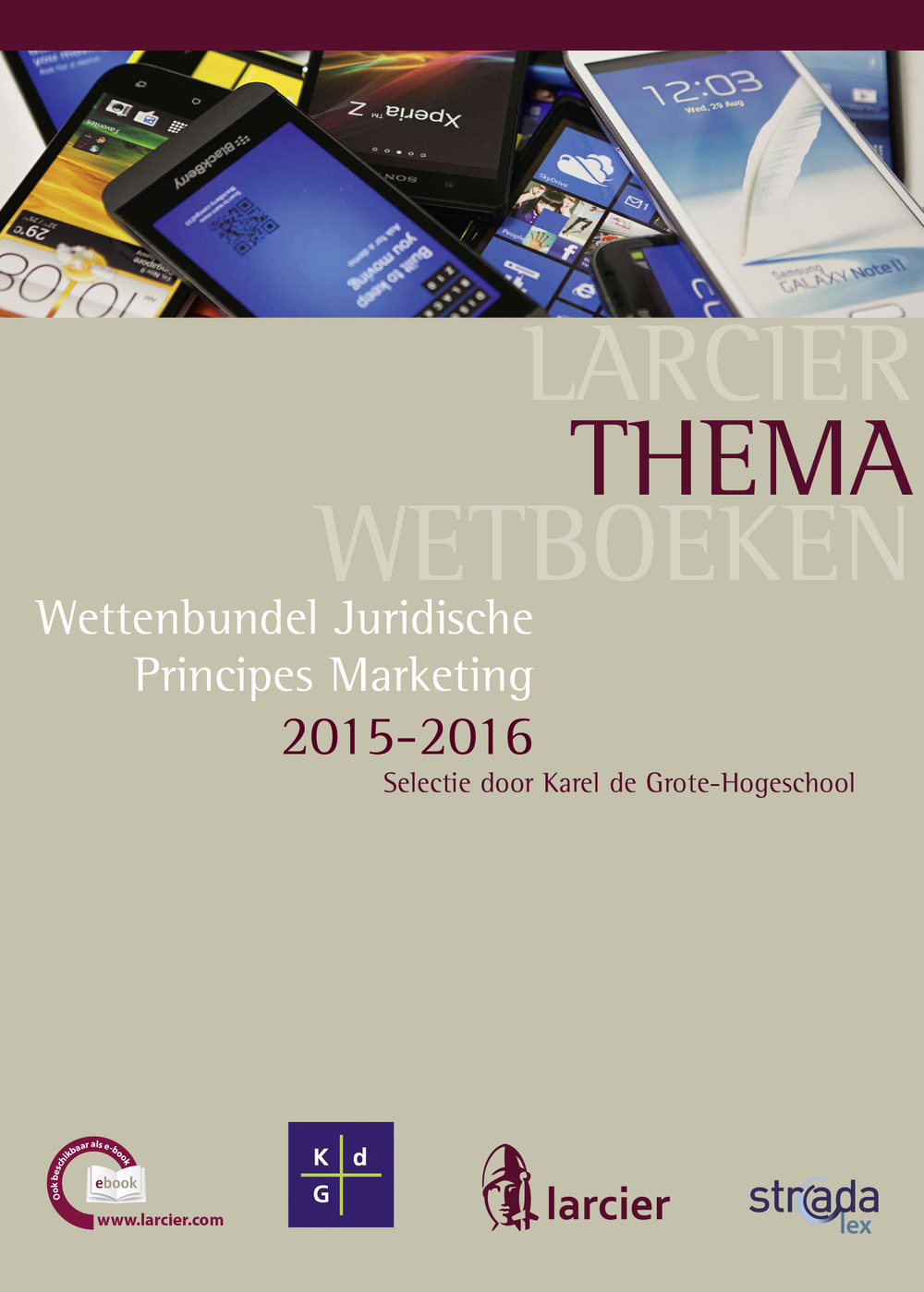 Wettenbundel juridische principes marketing