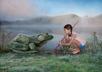 Chasse à la grenouille