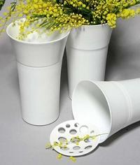 Vase et pique-fleurs