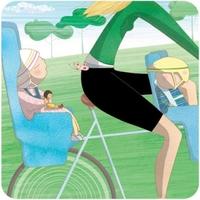 Eco babies carpool - Les bébés écolos font du covoiturage