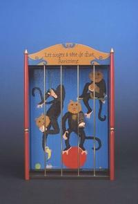 Les singes à tête de chat