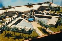 Palais d'été du Roi Fahed à Djeddah, Arabie Saoudite