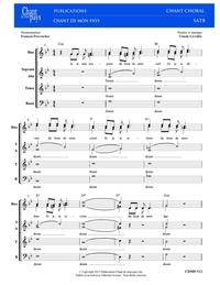 SATB choral _ L'Étrange retour