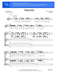 SATB choral _ Virages