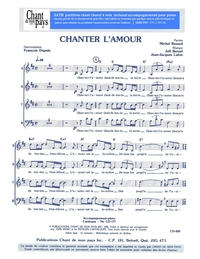 SATB choral _ Chanter l'amour