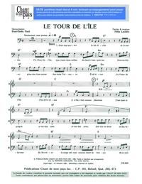 SATB choral _ Tour de l'île (le)