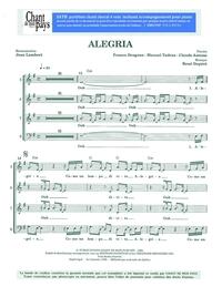 SATB choral _ Alegria
