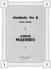 Piano - Prélude No 5