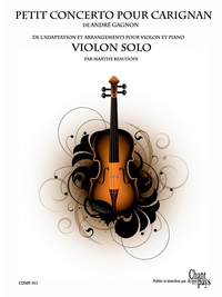 PV - Concerto pour Carignan