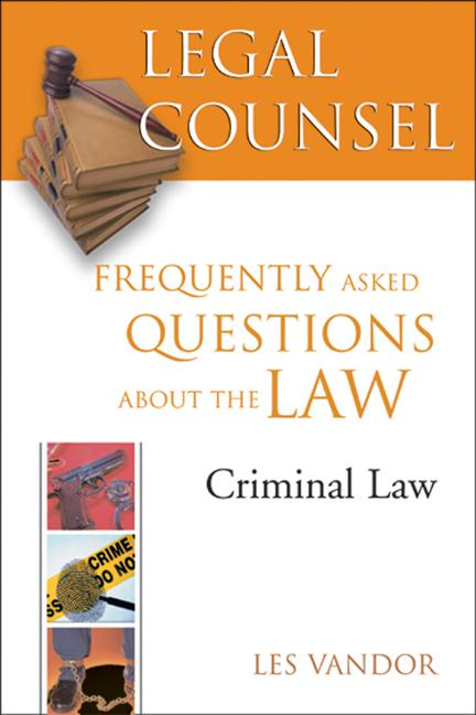 Legal Counsel, Book Four: C...