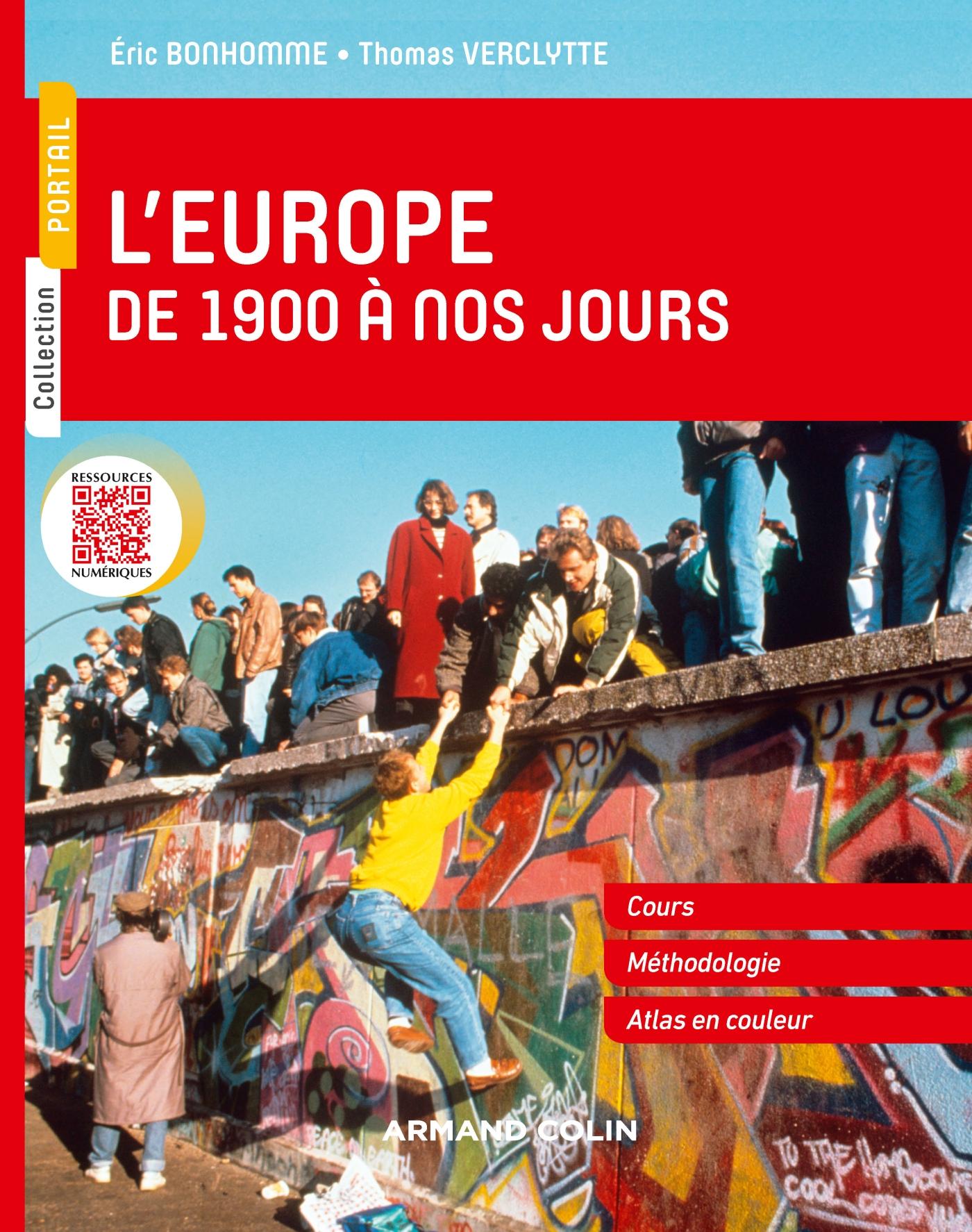 L'Europe de 1900 à nos jours