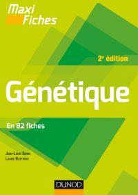 Maxi fiches - Génétique - 2e éd.