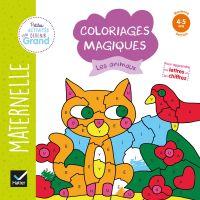 Coloriages magiques - Les animaux MS