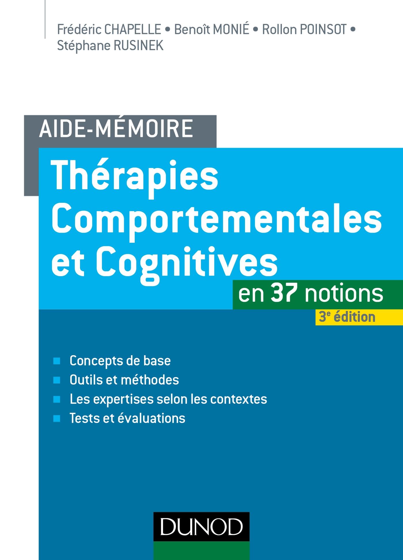 Aide-mémoire - Thérapies comportementales et cognitives
