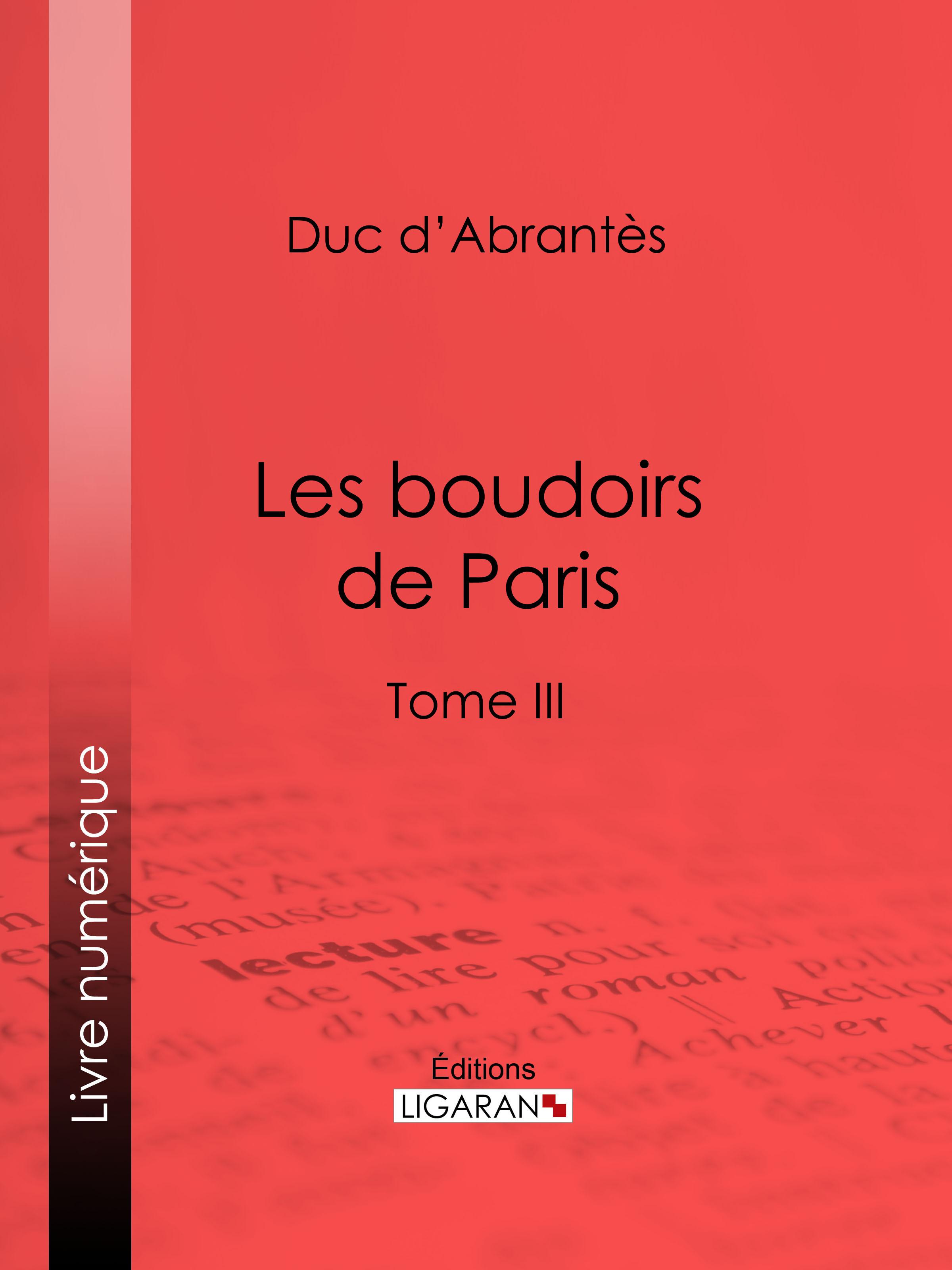 Les Boudoirs de Paris