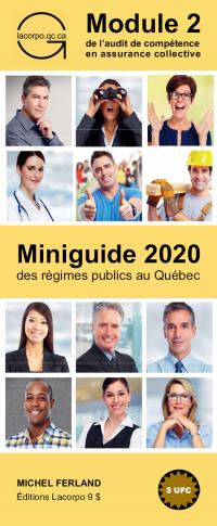 Miniguide 2020 des régimes publics au Québec
