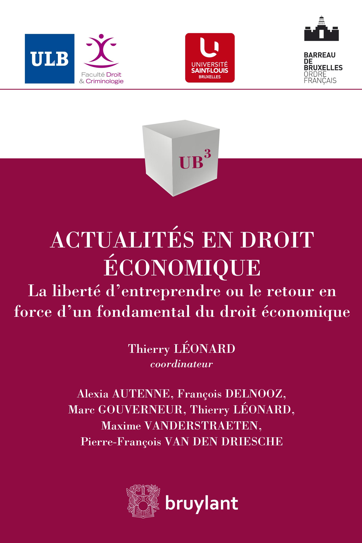 Actualités en droit économique