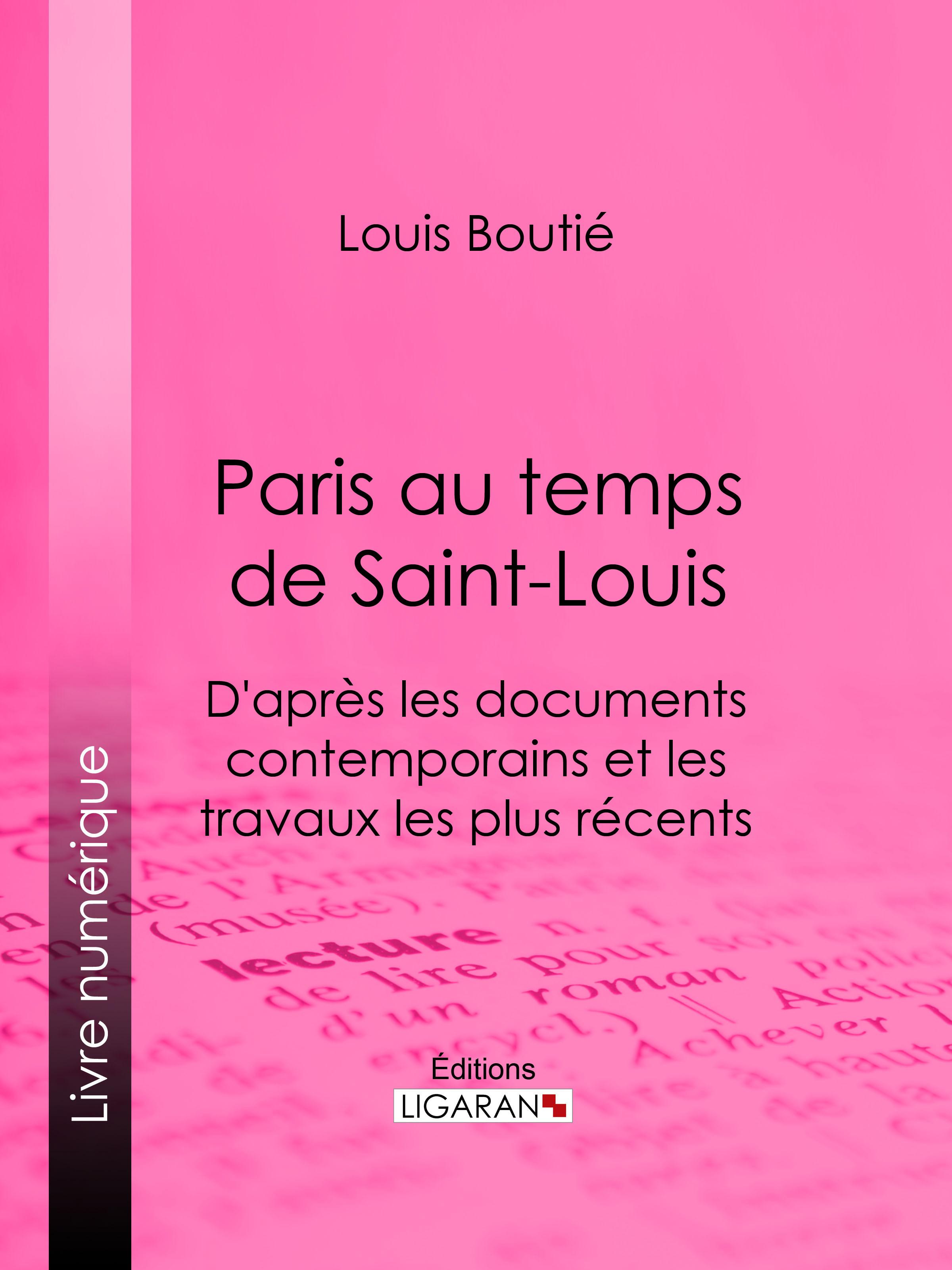 Paris au temps de Saint-Louis
