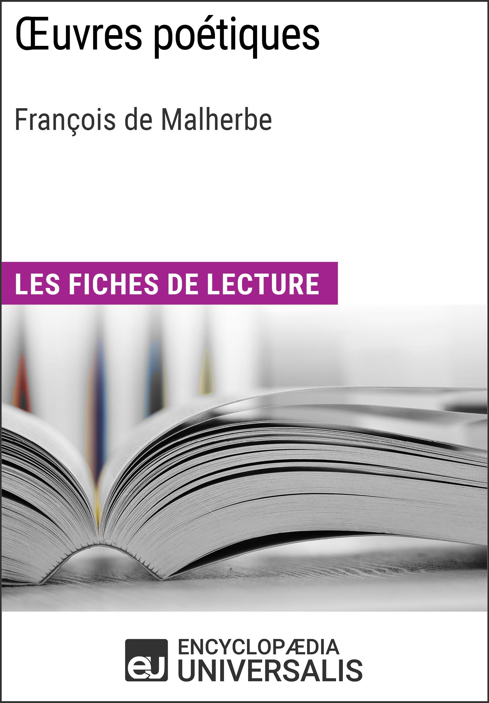 Oeuvres poétiques de François de Malherbe