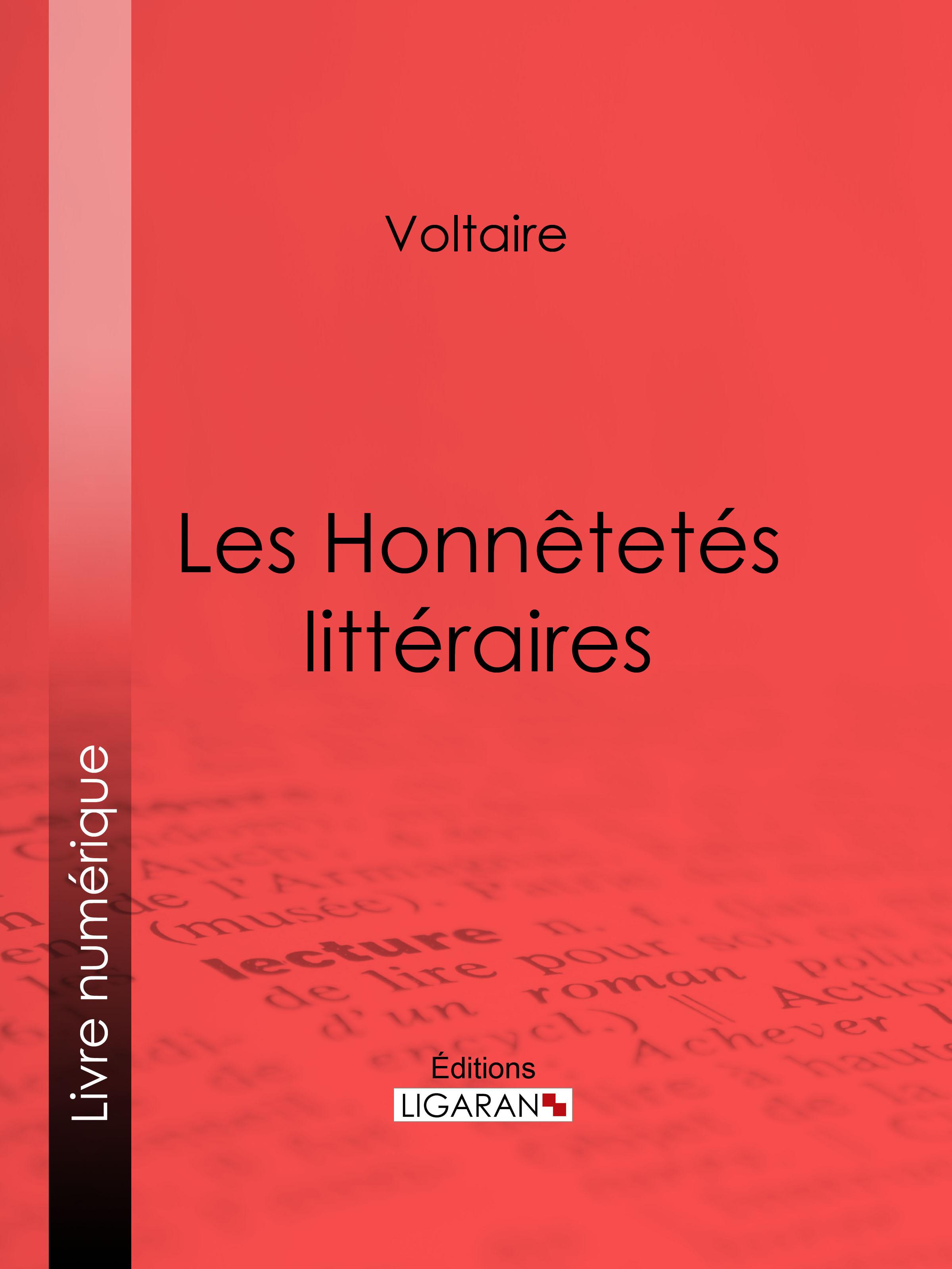 Les Honnêtetés littéraires