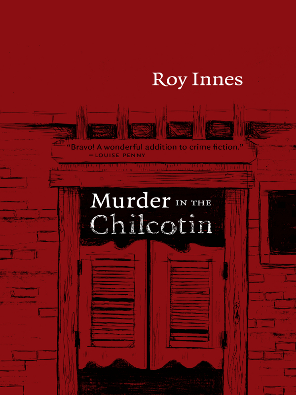 Murder in the Chilcotin