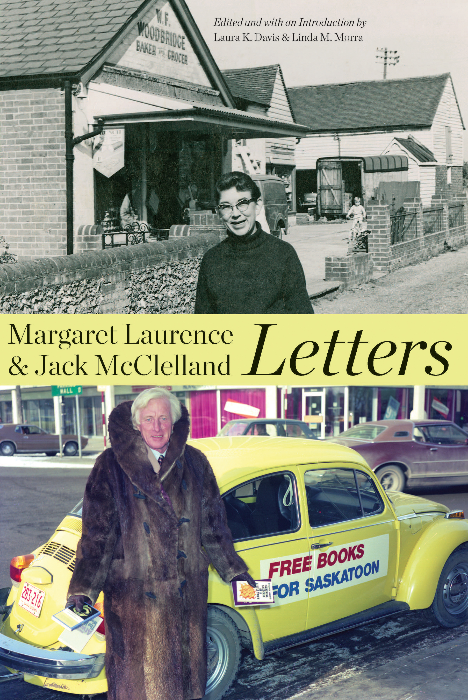 Margaret Laurence and Jack McClelland, Letters