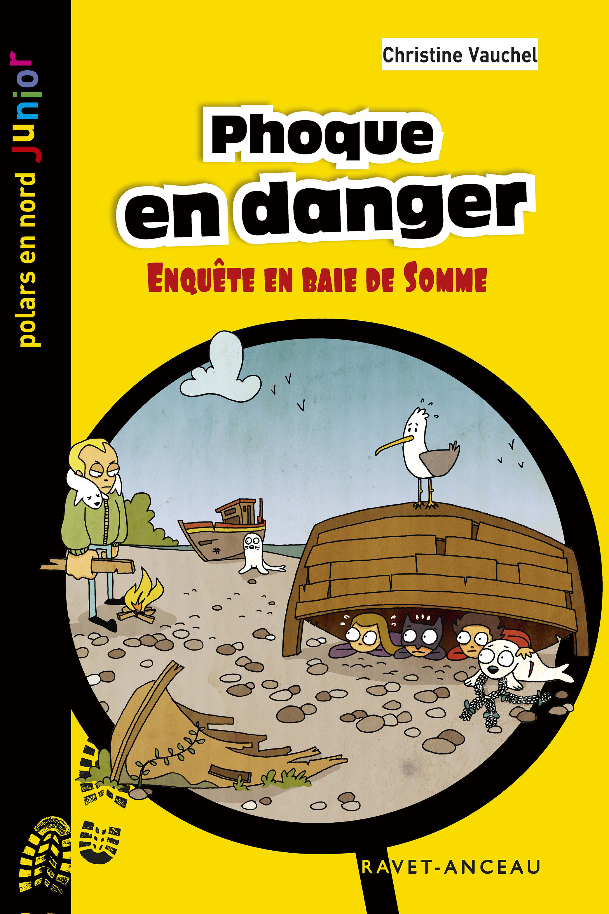 Phoque en danger