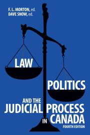 Cover image (Law, Politics, and the Judicial Process in Canada, 4th Edition)