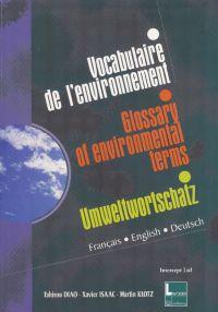 Vocabulaire trilingue de l'...