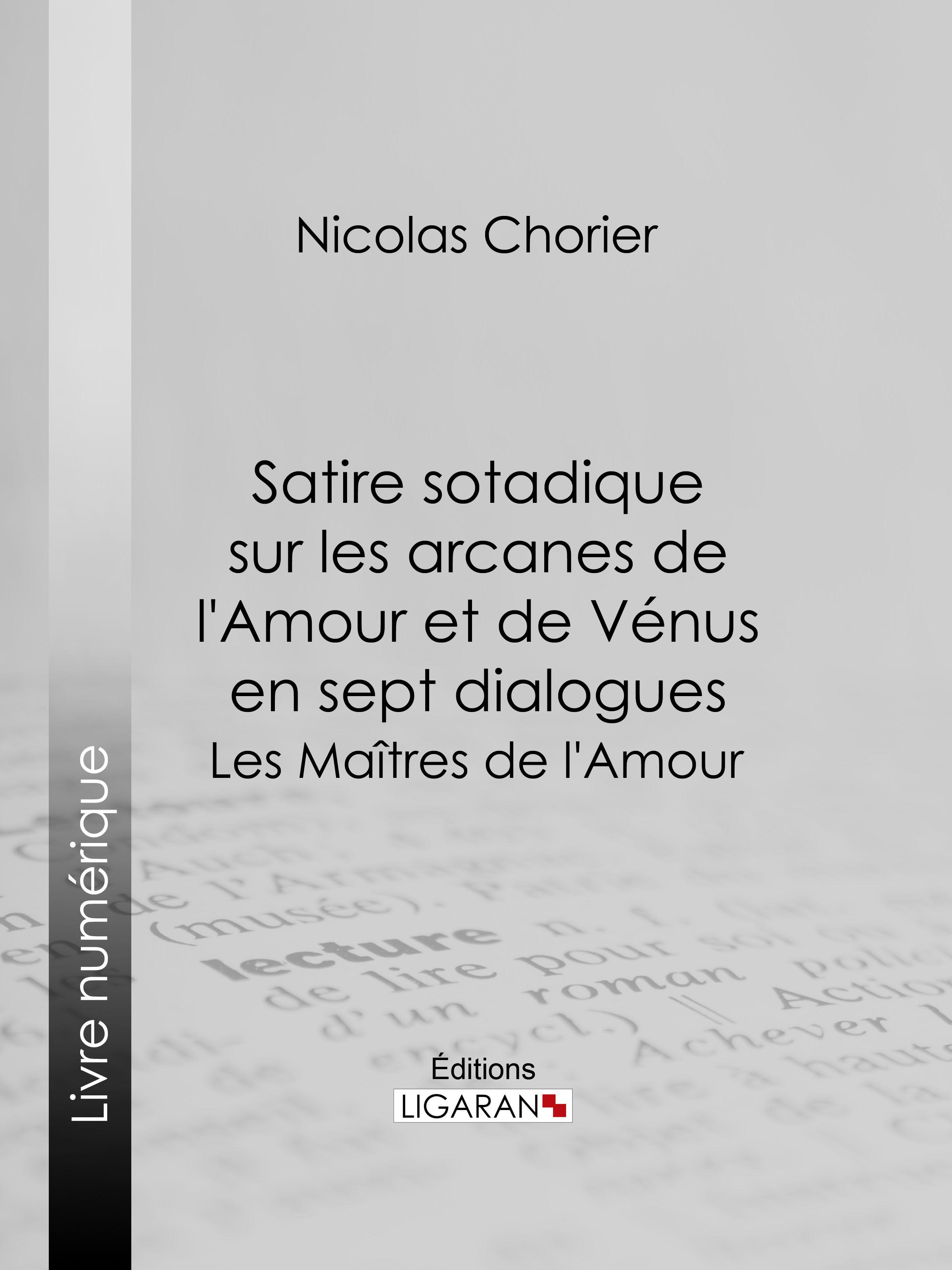 Satire sotadique sur les arcanes de l'Amour et de Vénus en sept dialogues