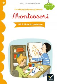 Premières lectures autonomes Montessori Niveau 3 - Nil fait de la peinture