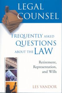 Legal Counsel, Book Three: ...