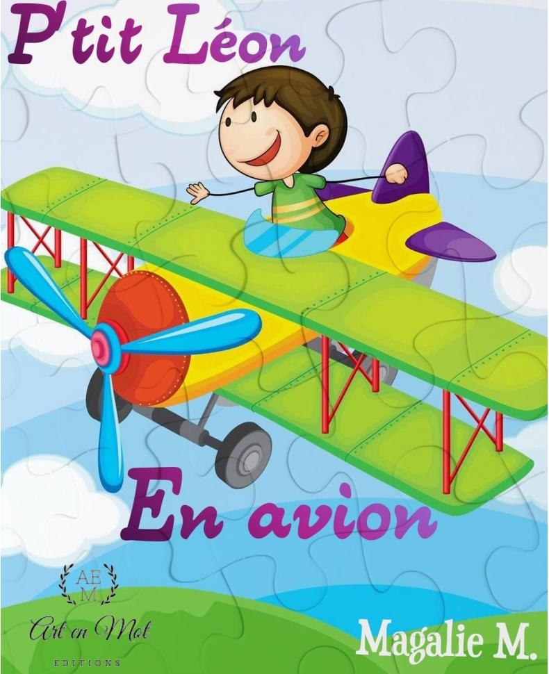P'tit Léon en avion