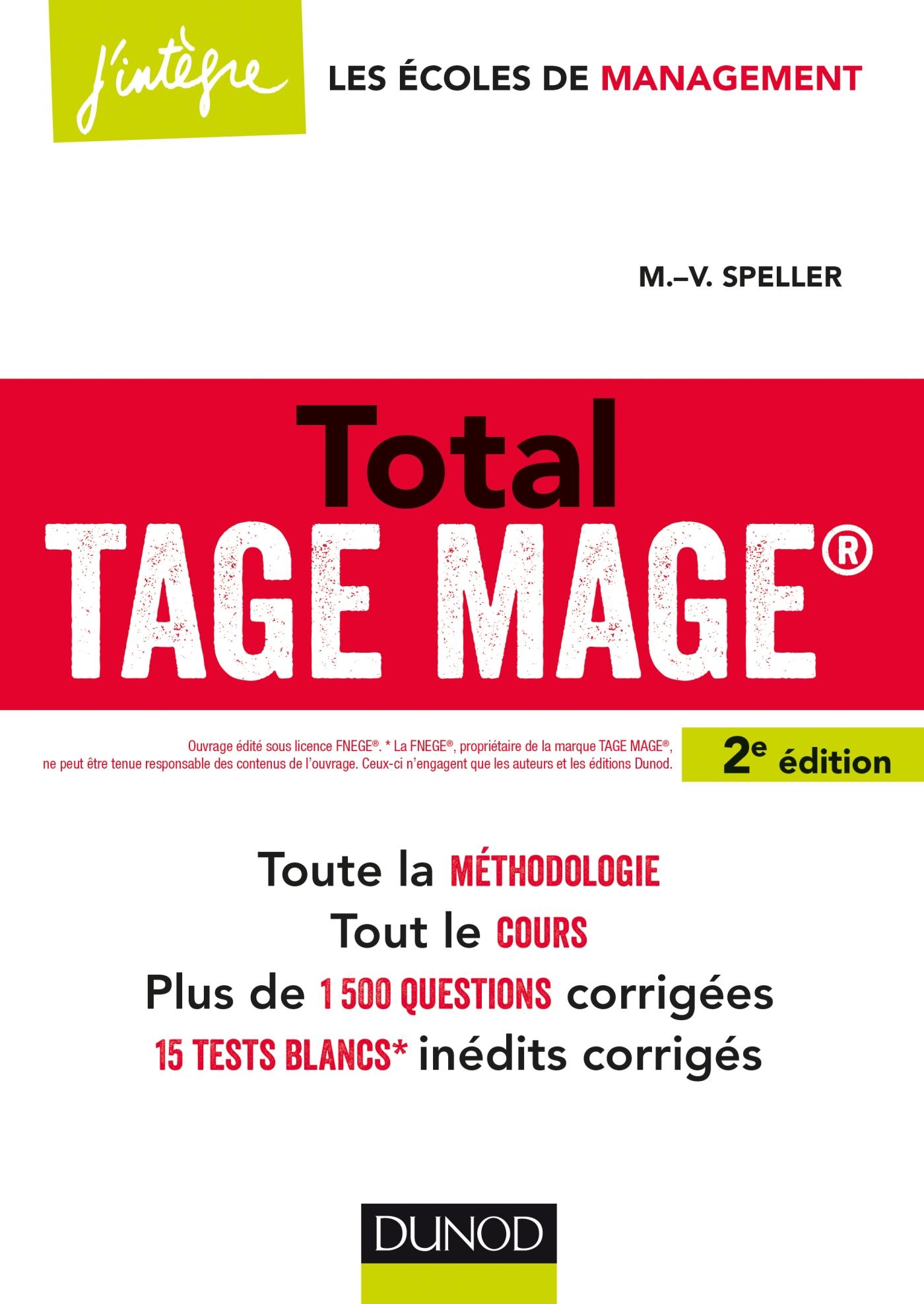 Total TAGE MAGE®- 2e éd.
