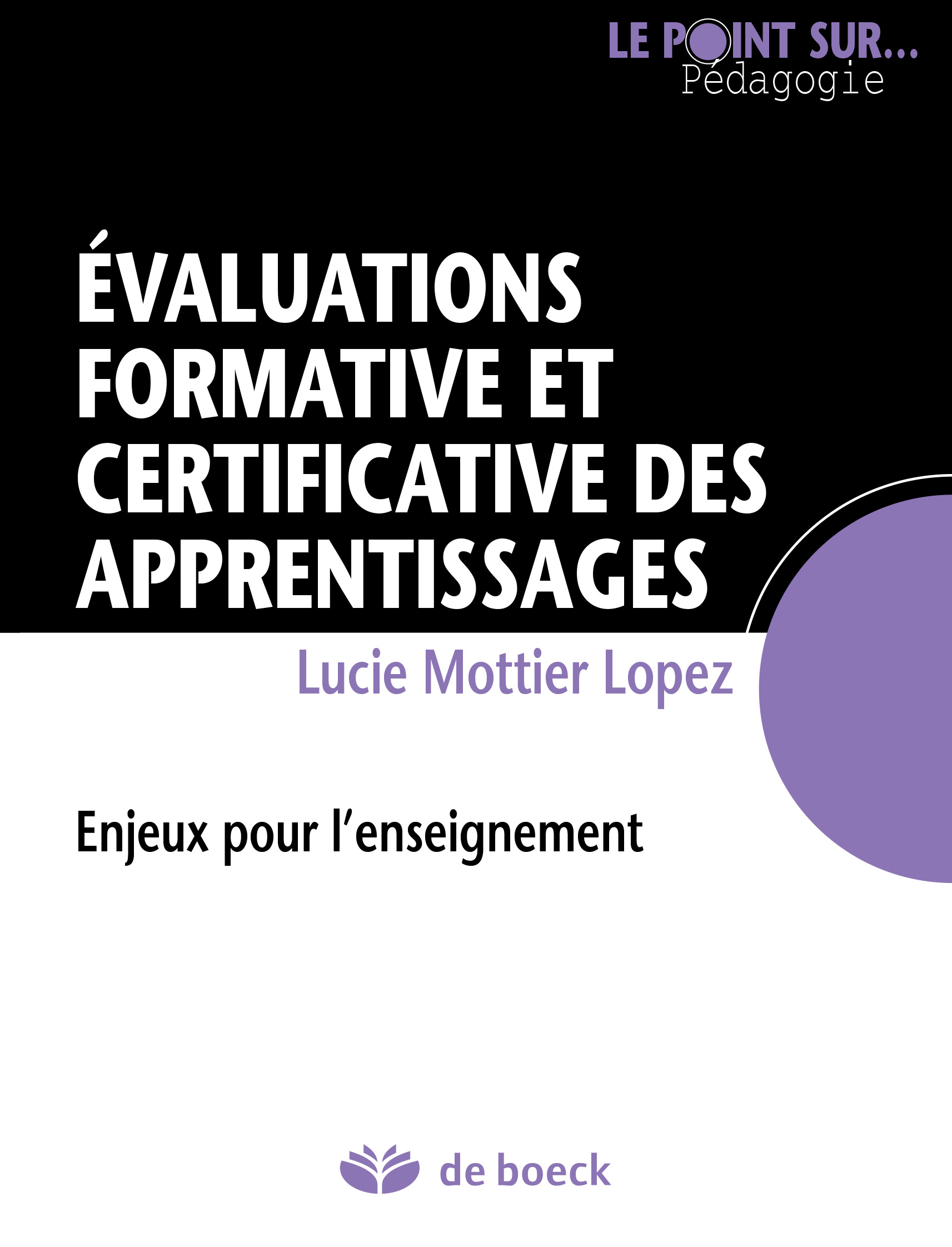 Évaluations formative et certificative des apprentissages